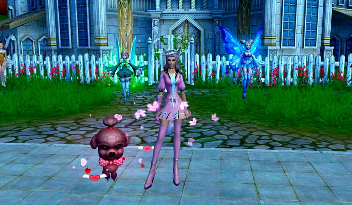 База модной одежды MMORPG Perfect World | 700x1200